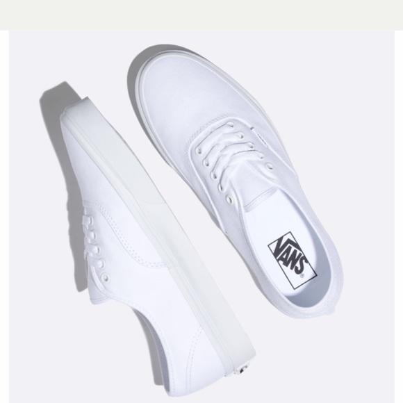 Vans Shoes | Vans White Tieup Vanslike